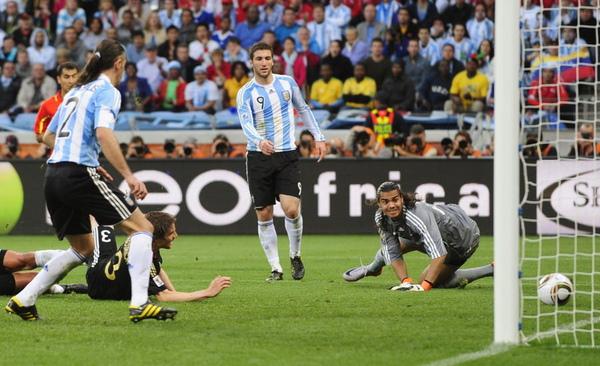 goal against argentina!!