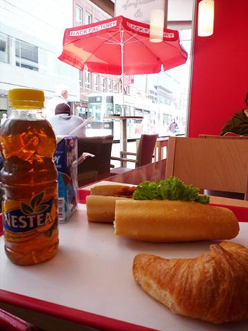 第一天早/午餐...
