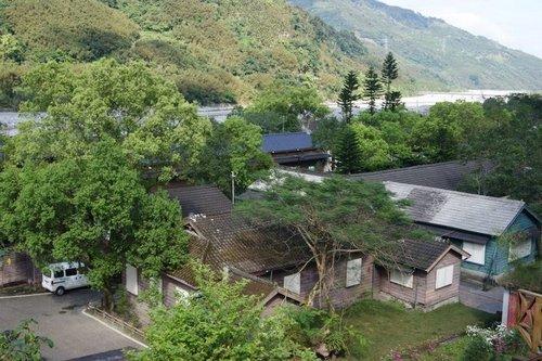 林田山社區過去就是伐木業相關人員的宿舍,還保留著日式宿舍的風貌。