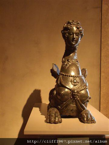 蓋帝中心--青銅雕塑