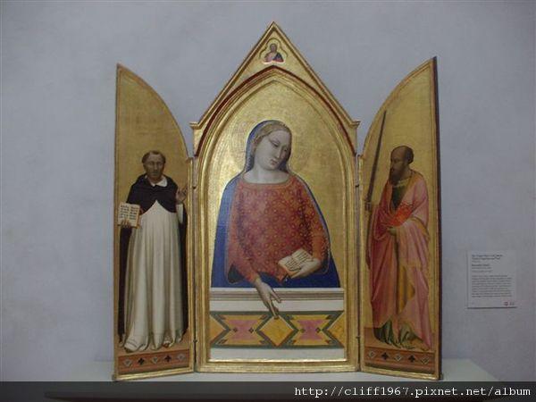 蓋帝中心--早期哥歌德時期祭台畫(義大利)