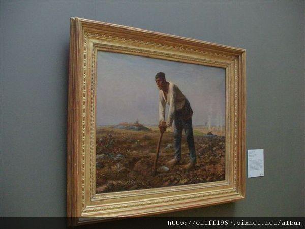 法國巴比松畫派大師--米勒
