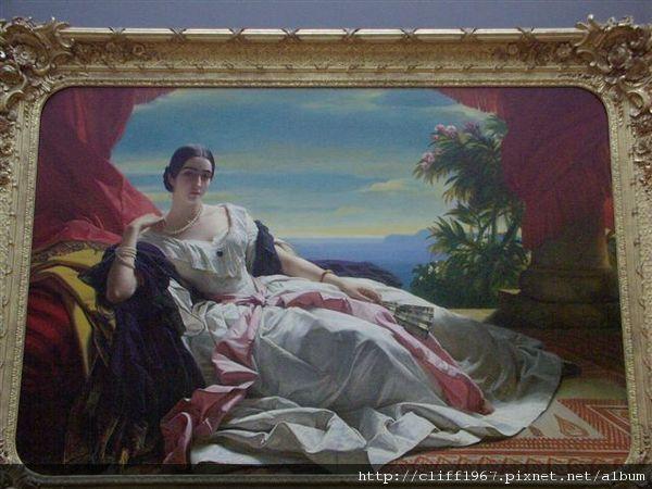 法國新古典畫派大師--安格爾