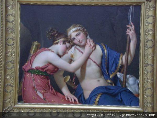 蓋帝中心--法國新古典畫派大師--大衛畫作
