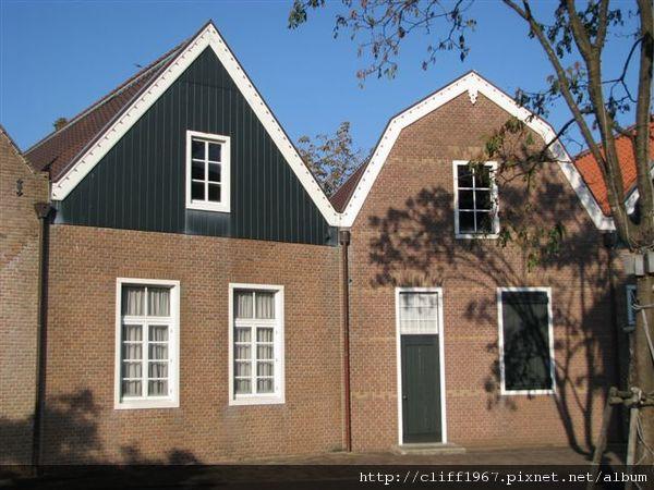 荷蘭傳統木屋