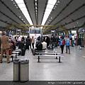 羅馬機場旁的義大利國鐵車站