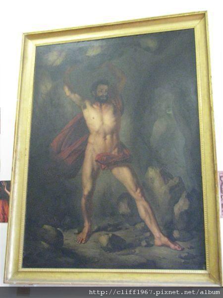 希臘神話支撐天的巨人神