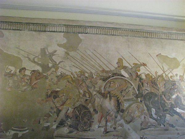 龐貝古城馬賽克地板