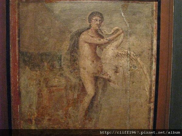 龐貝古城濕壁畫