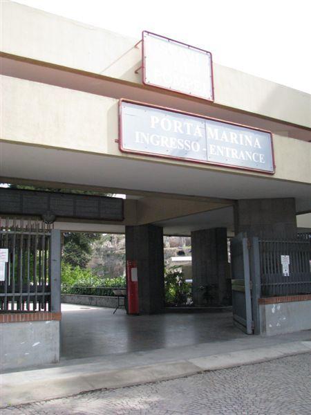 龐貝古城入口