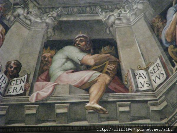 瓦沙利的最後審判濕壁畫