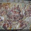 聖彼得鐵鍊教堂中主祭台濕壁畫描述聖彼得的生平