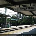 綠d線終點站riverside