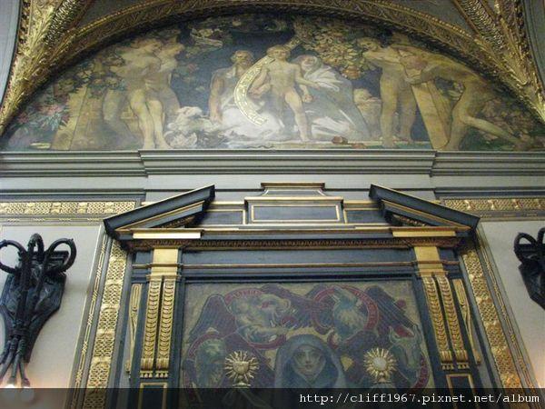 波士頓圖書館三樓壁畫