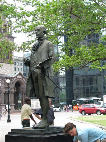 出生於波士頓的畫家卡布利copley