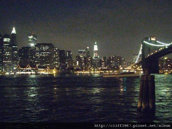 布魯克林大橋與曼哈頓夜景