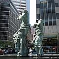 仿製米洛的維納斯的現代雕塑