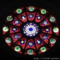 貞潔聖母教堂--玫瑰窗