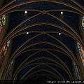 貞潔聖母教堂--佈滿星星的天棚