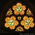 貞潔聖母教堂--彩繪玻璃