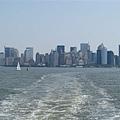 遠眺曼哈頓