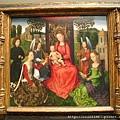 北方文藝復興始祖--勉林Hans Memling--神秘的婚禮(耶穌與聖卡德琳娜)