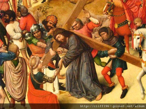 苦路--維洛妮卡幫耶穌擦汗