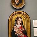 耶穌頭像、聖母與聖嬰