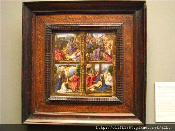 耶穌受難四連畫