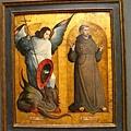 聖喬治屠龍與聖方濟
