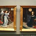 雙連畫--天使告知受孕