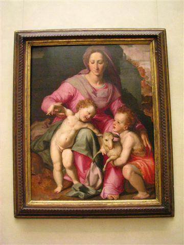 聖母與耶穌與施洗者約翰