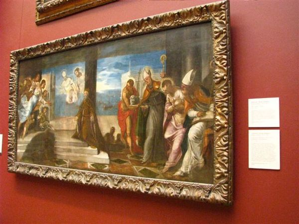 威尼斯畫派大師--丁多列托(提香的徒弟)