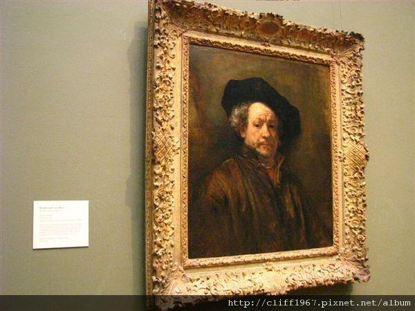 荷蘭繪畫大師--林布蘭特自畫像