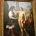 義大利畫家Sacchi-阿波羅贈與桂冠