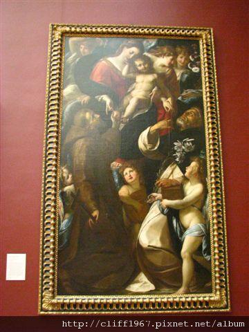聖母與聖嬰與聖方濟