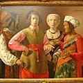 法國繪畫大師--拉圖爾(算命)