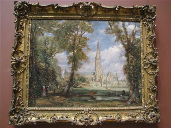 英國風景繪畫大師--康士坦伯
