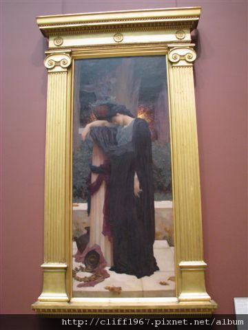 拉飛爾前派畫家Frederic--Lachrymae