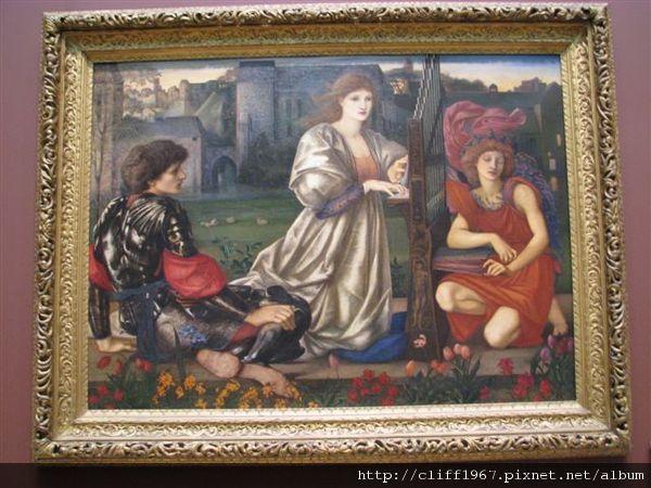 拉飛爾前派大師Sir Edward Burne-Jones--愛之歌