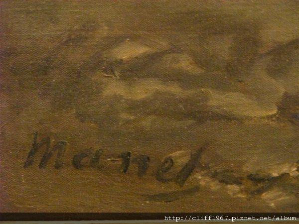 印象派大師--雷諾瓦簽名