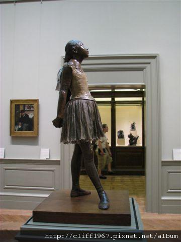 印象派大師--竇加雕塑作品