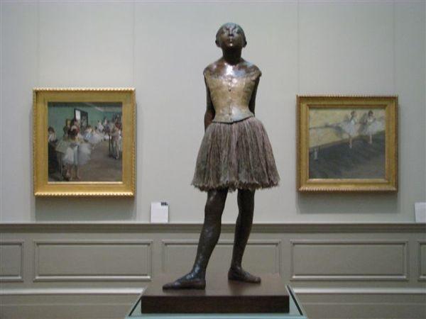 印象派大師--竇加畫作與雕塑作品