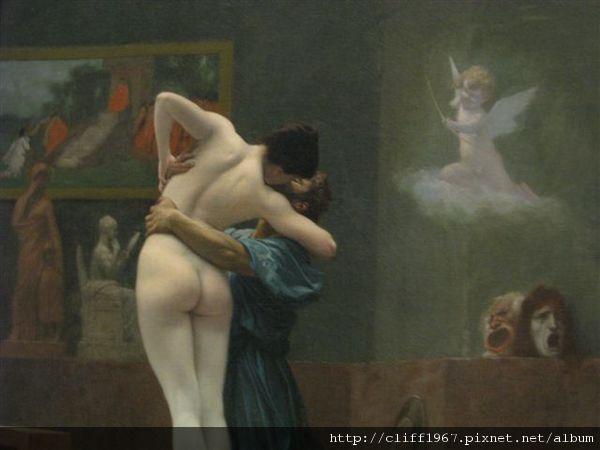 法國畫家Jean-Léon Gérôme--Pygmalion and Galatea