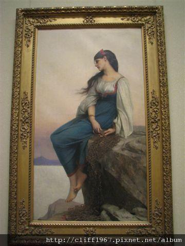 法國畫家Jules-Joseph Lefebvre 畫作