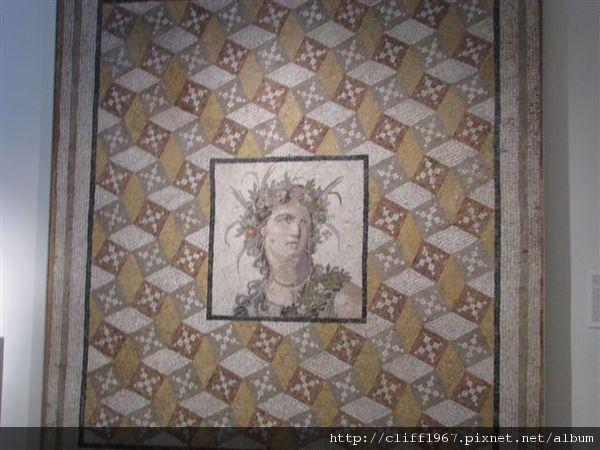 馬賽克地板