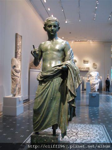 羅馬青銅雕像