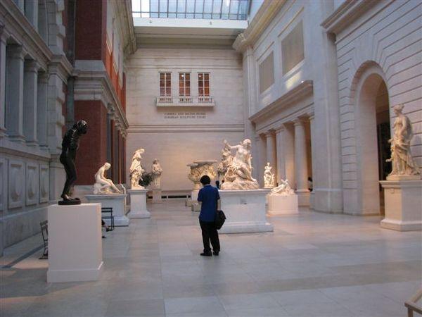 歐洲雕刻展示大廳