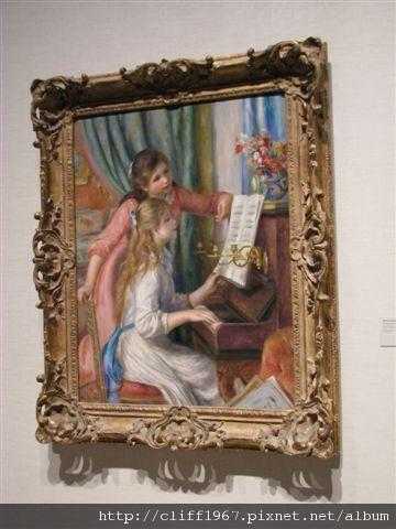 雷諾瓦的彈鋼琴少女
