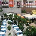 洛克斐勒中心--夏天咖啡座